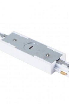 3 WIRE WITH LIVE IN‐LINE TRACK JOINER - WHITE